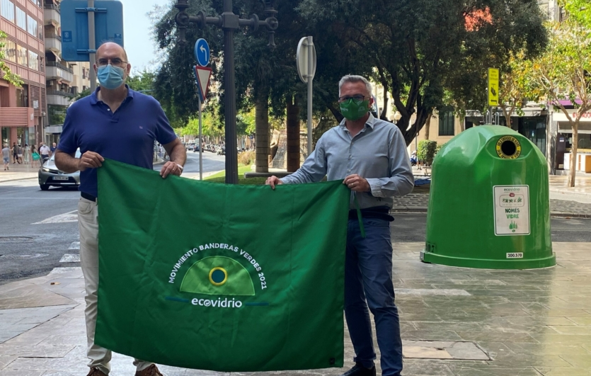 Campaña-Movimiento-Bandera-Verde-Ecovidrio-Alicante