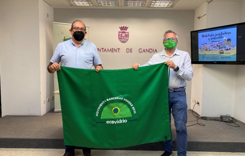 Campaña-Movimiento-Bandera-Verde-Ecovidrio-Gandia
